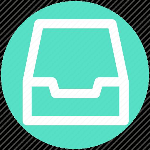 Achieve, documents, draw, folder, mailbox icon - Download on Iconfinder