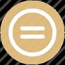 calculator, equal, equal sign, math, symbols