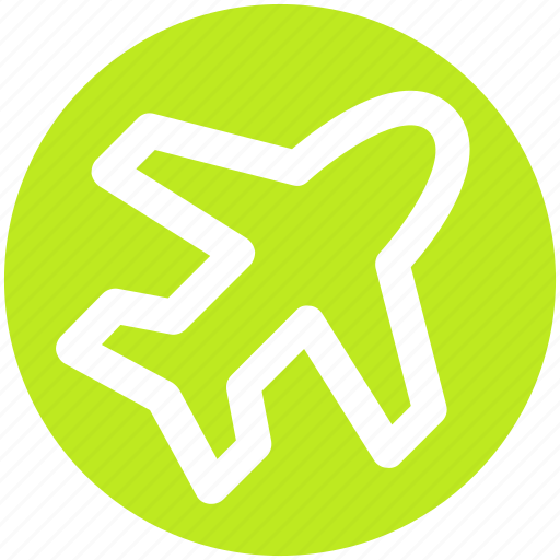 Aircraft, airplane, flight, plane, transport, travel icon - Download on Iconfinder
