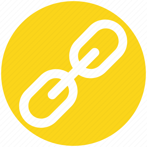 chain, connect, link, seo, url icon