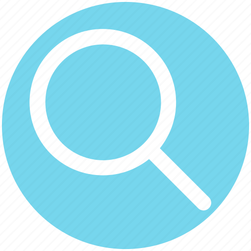 find, magnifier, magnifier glass, search, zoom icon
