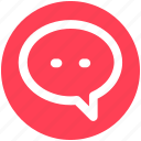 chat, comment, conversion, message, sms, text icon