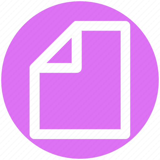 Doc, file, page, paper, sheet icon - Download on Iconfinder