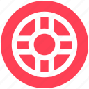 float, floating, life saver, swimming, swimming tire, tire icon
