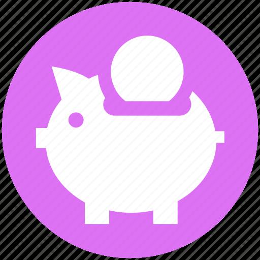 Bank, coin, coin saving, piggy, piggy coin, saving icon - Download on Iconfinder