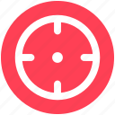 bulls eye, darts, goal, strategy, target icon