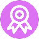 award, award badge, badge, position, prize, ribbon icon