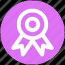 prize, award badge, award, position, badge, ribbon