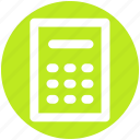 accounting, calc, calculation, calculator, machine, math icon