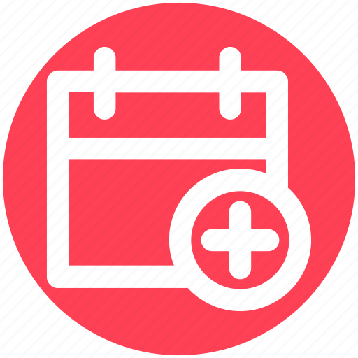 Add, agenda, appointment, calendar, day, plus sign icon - Download on Iconfinder