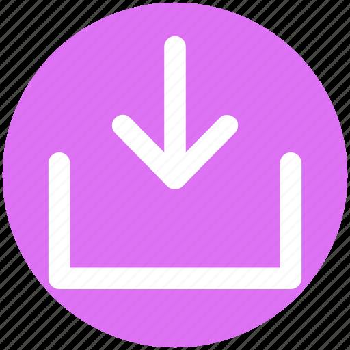 Arrow, down, down arrow, download icon - Download on Iconfinder
