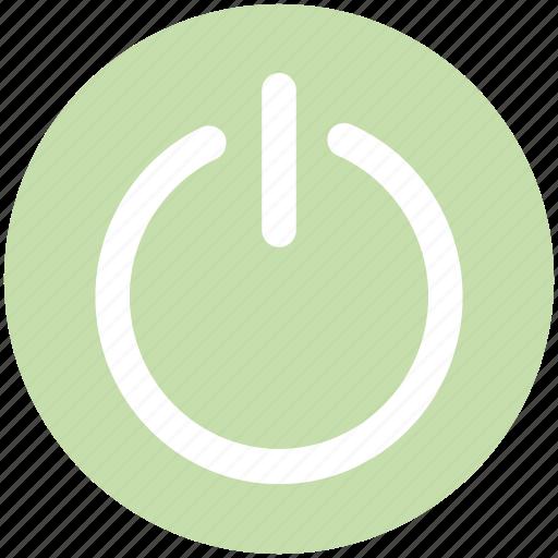 off, on, power, restart, restart sign, switch icon