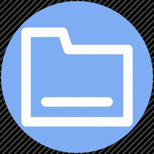 archive, computer folder, file folder, folder, saving folder icon