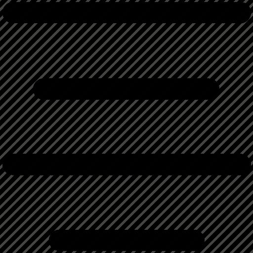 align, alignment, center, center align icon