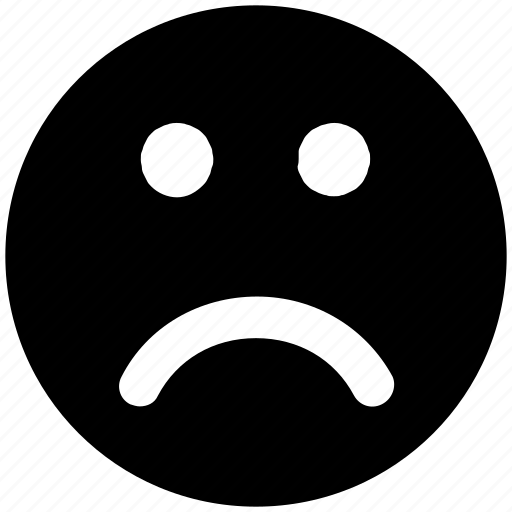 Emoji, emotion, face, sad, sadness face, smiley face icon - Download on Iconfinder