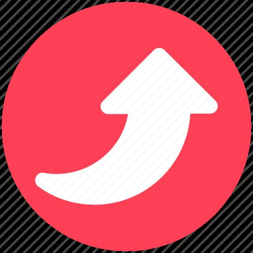 Arrow, up, up arrow, upload, uploading icon - Download on Iconfinder