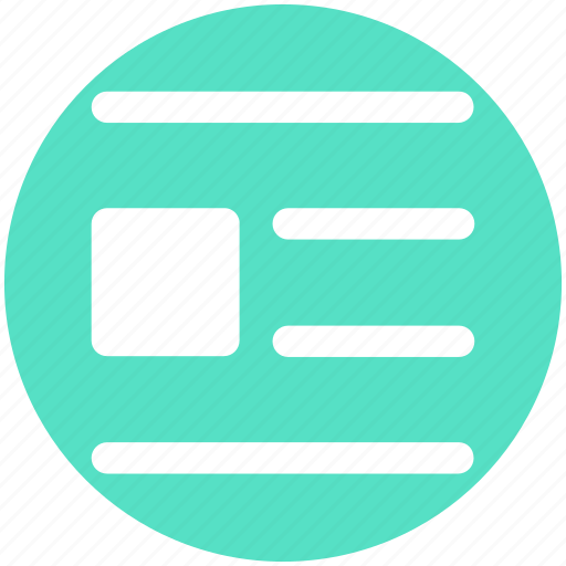 Align, alignment, editor, editorial, list icon - Download on Iconfinder