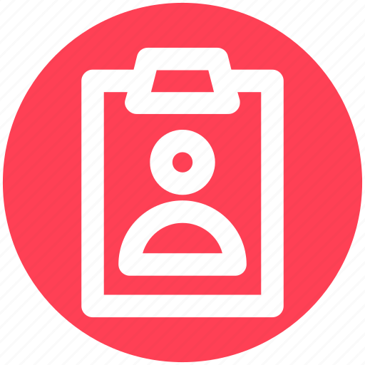 Business card, card, info, office card, profile, user card icon - Download on Iconfinder