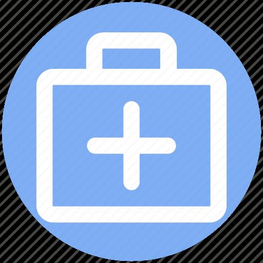 Bag, briefcase, doctor, doctor bag, medical bag, suitcase icon - Download on Iconfinder