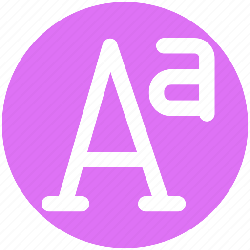 A sign, double a, language, letter, point, sign icon - Download on Iconfinder