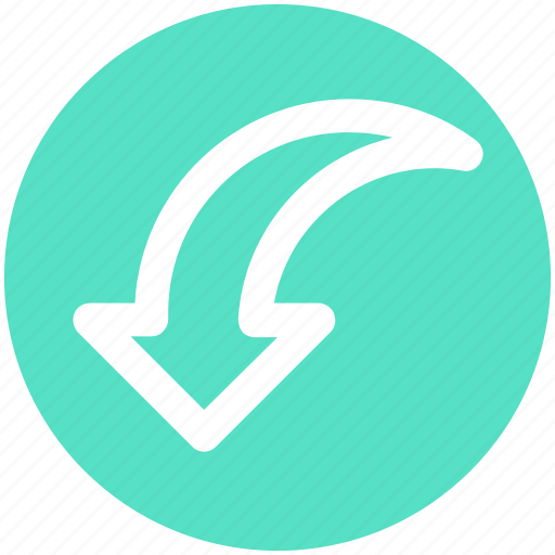 Arrow, down, down arrow, download, downloading icon - Download on Iconfinder