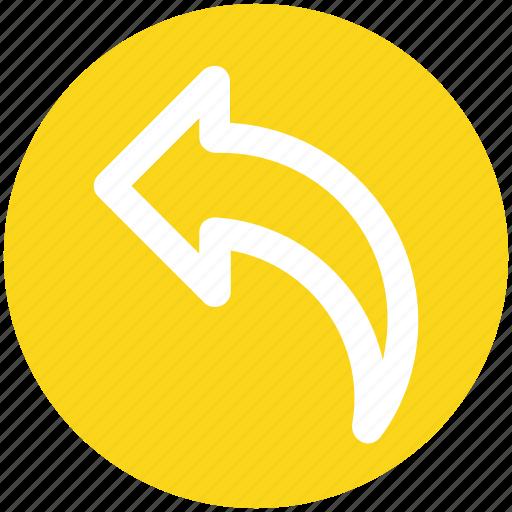 Arrow, back, left, left arrow icon - Download on Iconfinder