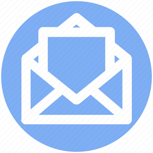 Email, envelope, letter, mail, message, open envelope icon - Download on Iconfinder