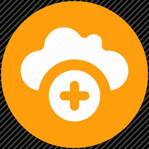 Add, cloud, data, plus, plus sign, storage icon - Download on Iconfinder