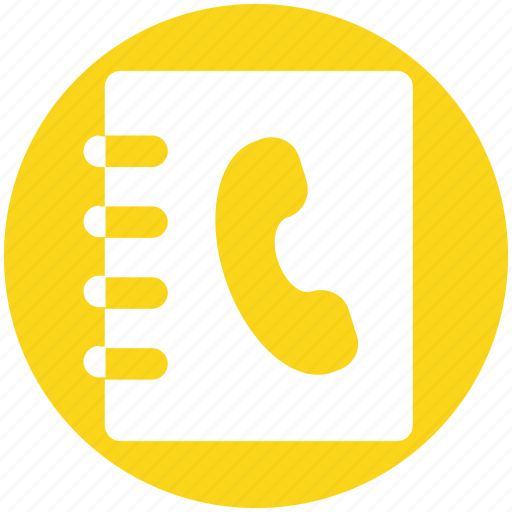 Address book, book, contacts book, contacts list, telephone contacts, user icon - Download on Iconfinder