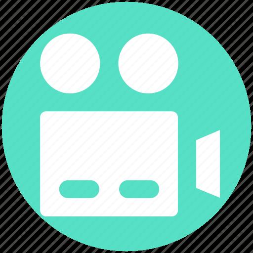 Camera, film shot, movie camera, tripod, video, video camera icon - Download on Iconfinder