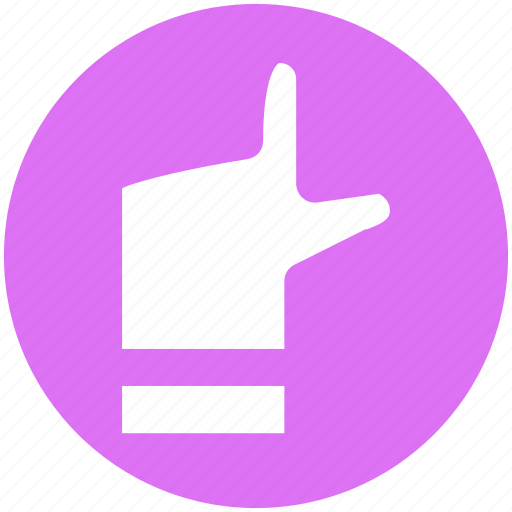 Finger, hand, pointing, show, up, up hand icon - Download on Iconfinder