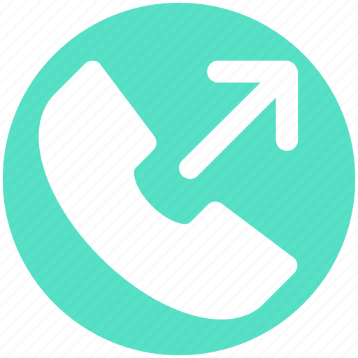 Arrow, call, dial call, phone, received, receiver icon - Download on Iconfinder