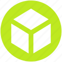 box, carton, carton box, package, product icon