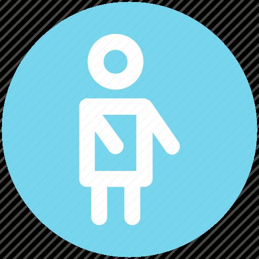 employee, human, man, people, person icon