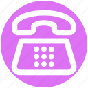 call, communication, contact, device, phone, telephone icon
