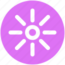 brightness, light, shine, sun, sunlight, sunny, weather icon