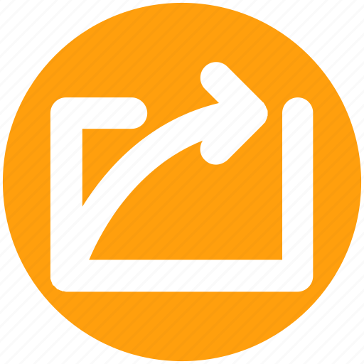 Arrow, curve, right, right arrow, up icon - Download on Iconfinder