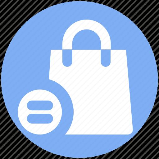 Bag, equal, fashion, hand bag, shopping bag icon - Download on Iconfinder