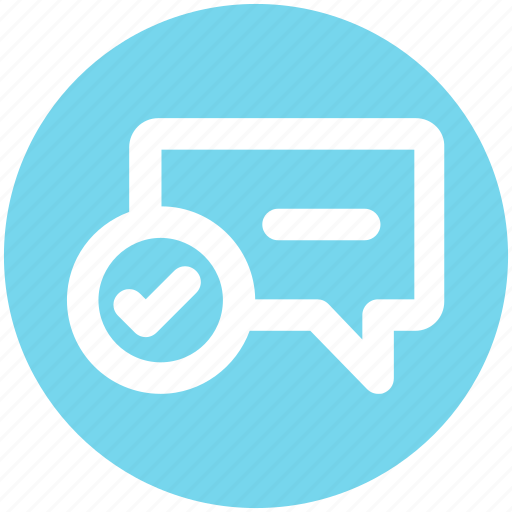 Accept, chat, comment, message, text icon - Download on Iconfinder