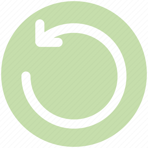Arrow, circle, left, line, loading, rotate, sync icon - Download on Iconfinder