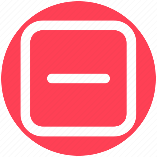 Decrease, less, minus, minus sign, remove, sign icon - Download on Iconfinder