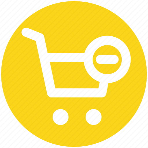 Cart, ecommerce, minus, remove, shopping, shopping cart icon - Download on Iconfinder