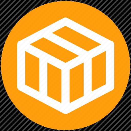 Box, carton, carton box, goods, product, shop icon - Download on Iconfinder