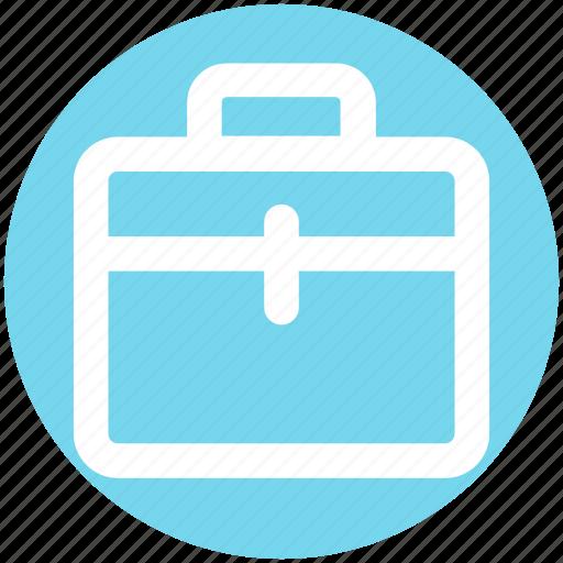 Bag, brief case, case, office bag, school bag, suit case icon - Download on Iconfinder
