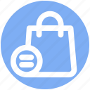 bag, equal, fashion, hand bag, shopping bag icon
