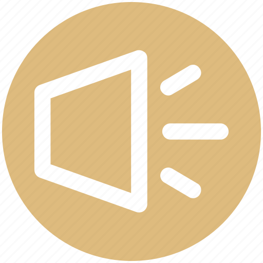 Sound, sound on, volume, volume on icon - Download on Iconfinder