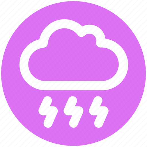 Cloud, cloud storm, storm, thunderstorm, weather icon - Download on Iconfinder