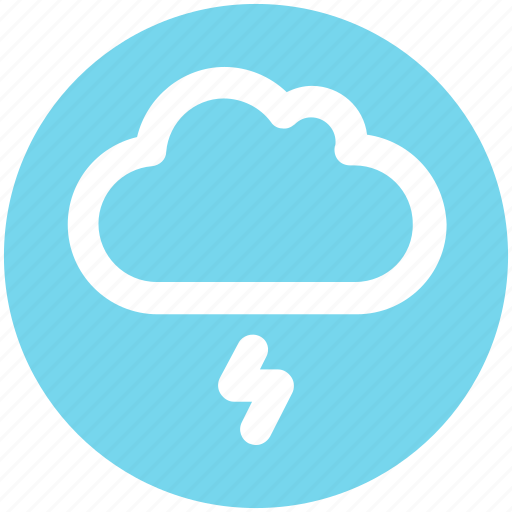 cloud, cloud storm, storm, thunderstorm, weather icon