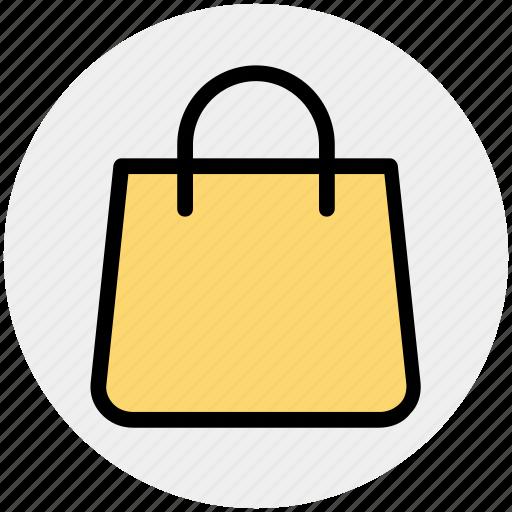 bag, fashion, hand bag, purse, shopping bag icon