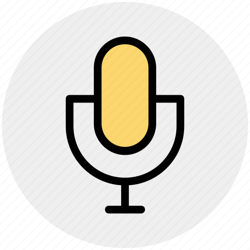 audio, classic, mic, microphone, record, song icon